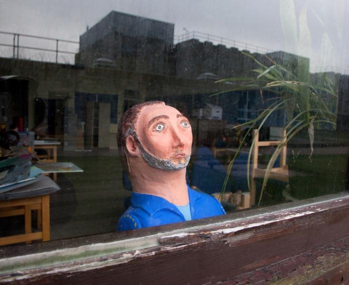 Verne art head