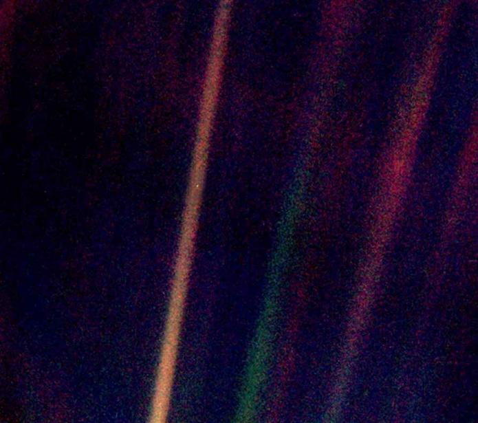 Observatory pale blue dot