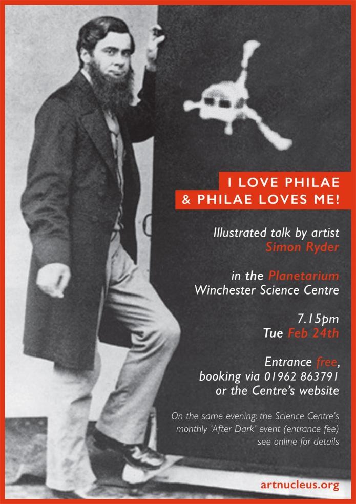 Observatory talk flyer