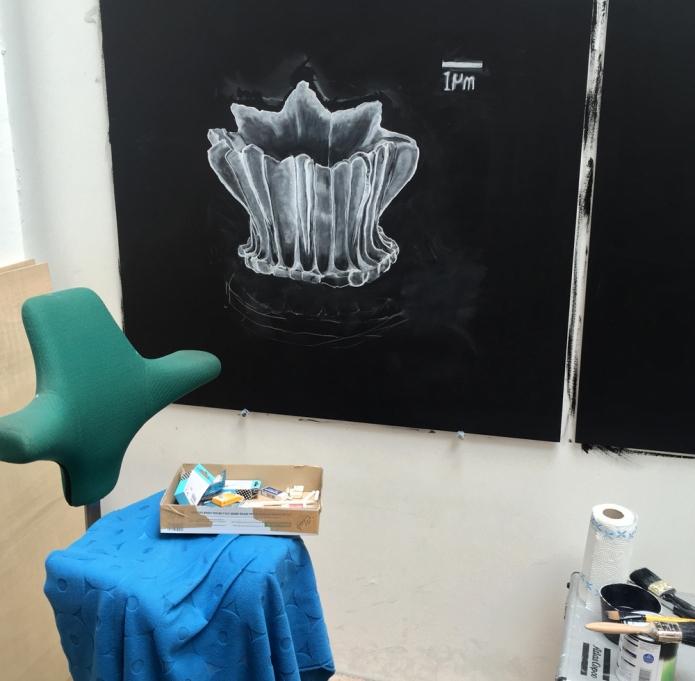 Observatory chalk drawing 2 sm